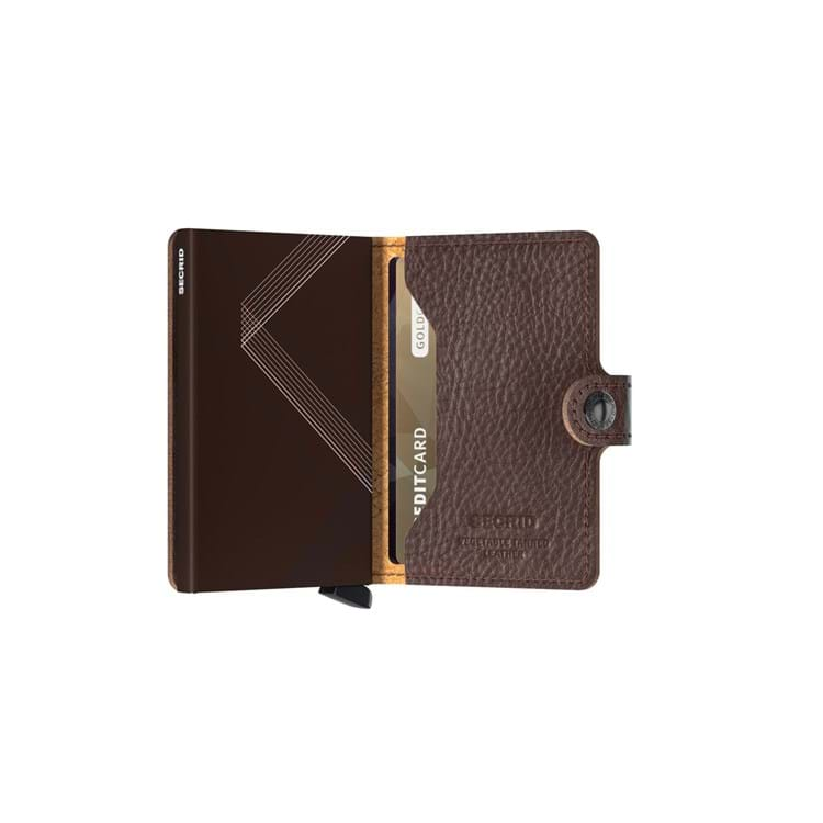 Kortholder Mini wallet Brun 4