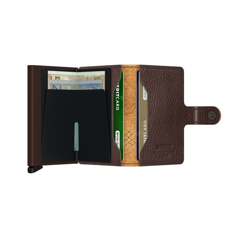 Kortholder Mini wallet Brun 5
