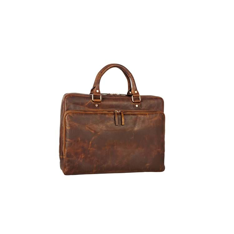 "Mappe laptop""13"" Glasgow Cognac 1"