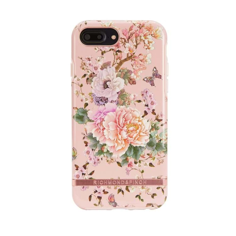 Richmond & Finch iPhone 6/6s/7/8 Plus Cover Pink Blomst 1