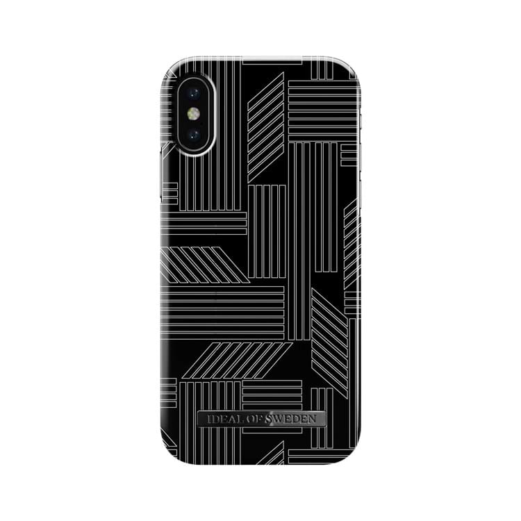 iDeal Of Sweden Iphone Cover Geometric Puzzle Sort/Hvid 1