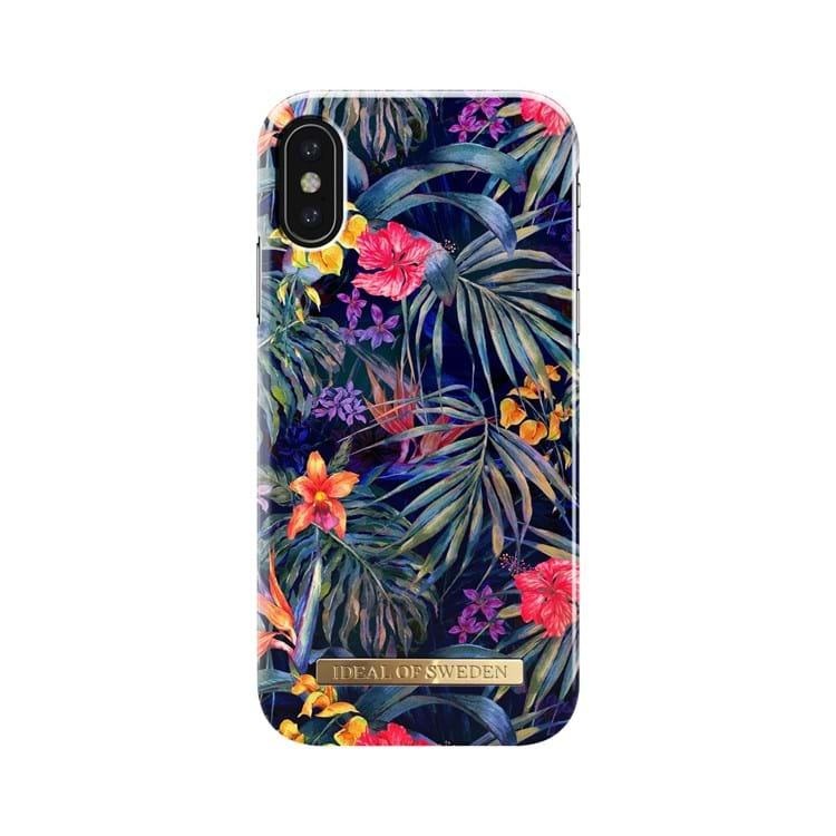 iDeal Of Sweden Iphone Cover Mysterious Jungle Sort/med blomster 1