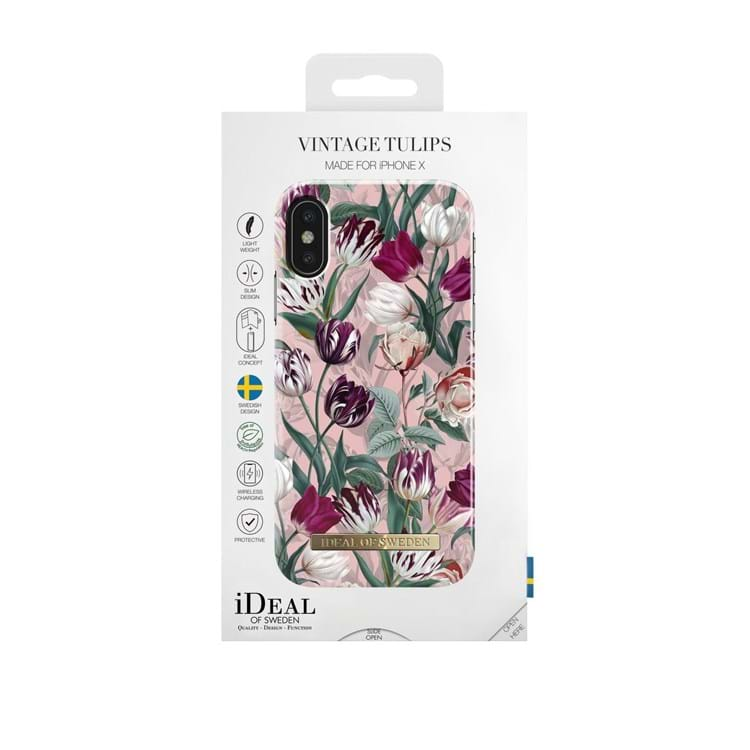 iDeal Of Sweden Iphone Cover Vintage Tulipan Lilla blomst 3