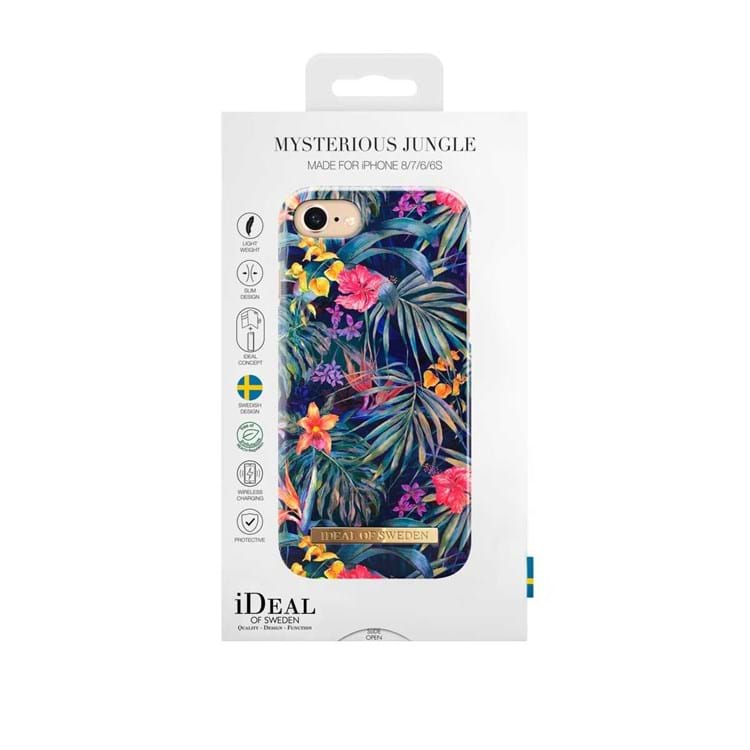 iDeal Of Sweden Iphone Cover Mysterious Jungle Blomster Print 2
