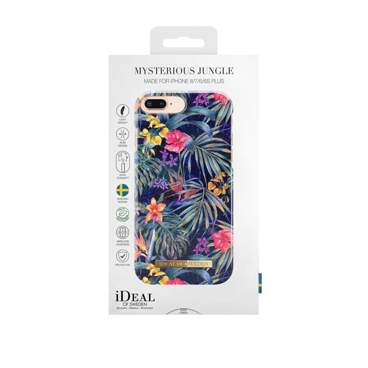 iDeal Of Sweden Iphone Cover Mysterious Jungle Blomster Print 3