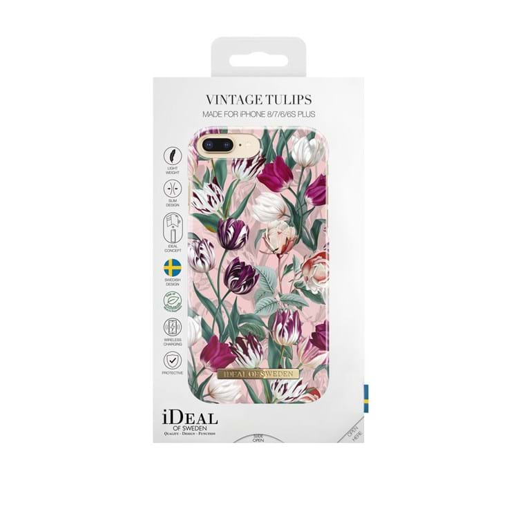 iDeal Of Sweden Iphone Cover Vintage Tulips Lilla blomst 3
