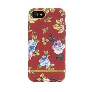 Iphone Cover Red Floral