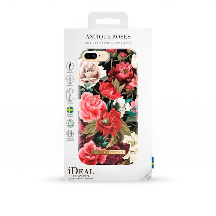 Iphone Cover Antique Roses Blomster Print 3