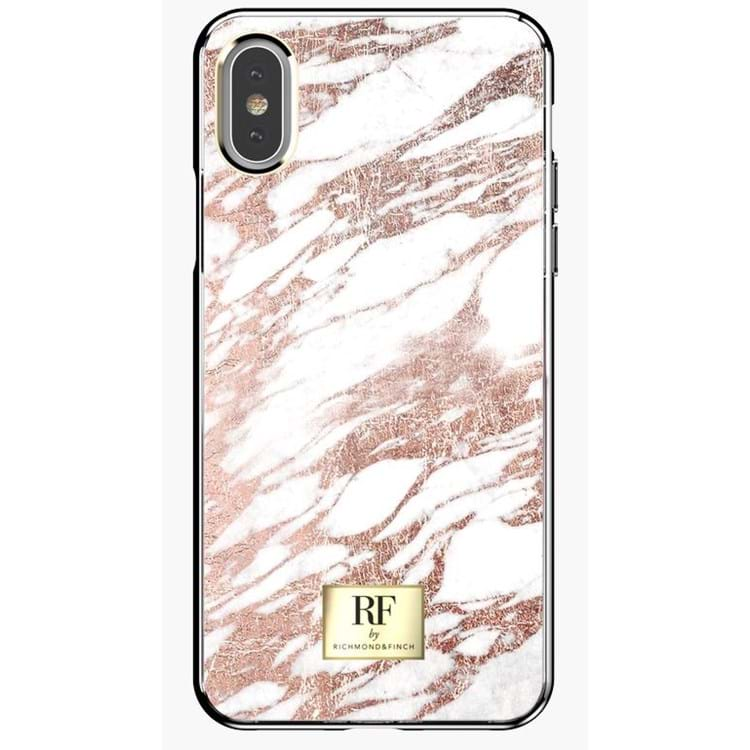 RF by Richmond&Finch iPhone X/XS Cover Hvid/Guld 1