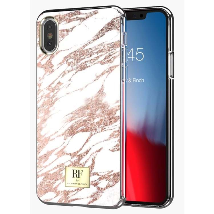 RF by Richmond&Finch iPhone X/XS Cover Hvid/Guld 3