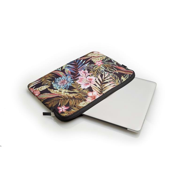 Sleeve MacBook Pro Air Blomster Print 3