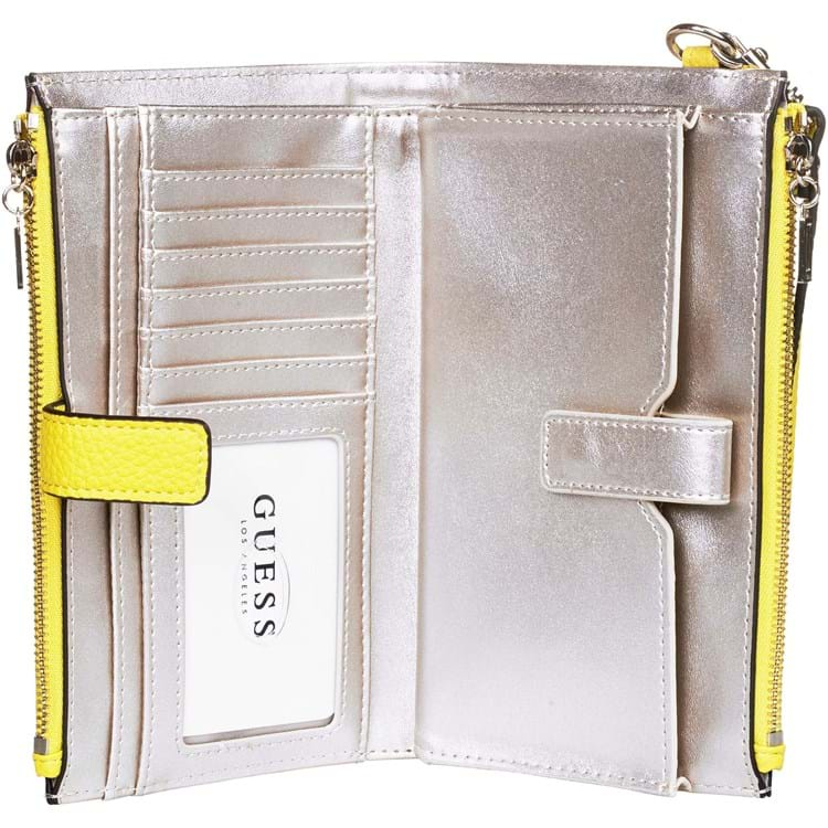 Pung Uptown Chic Slg Dbl Zip Lime 2