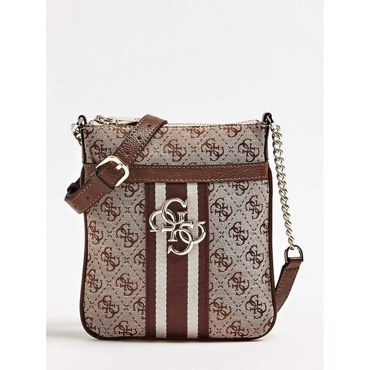 Crossbody Guess Vintage Brun 1