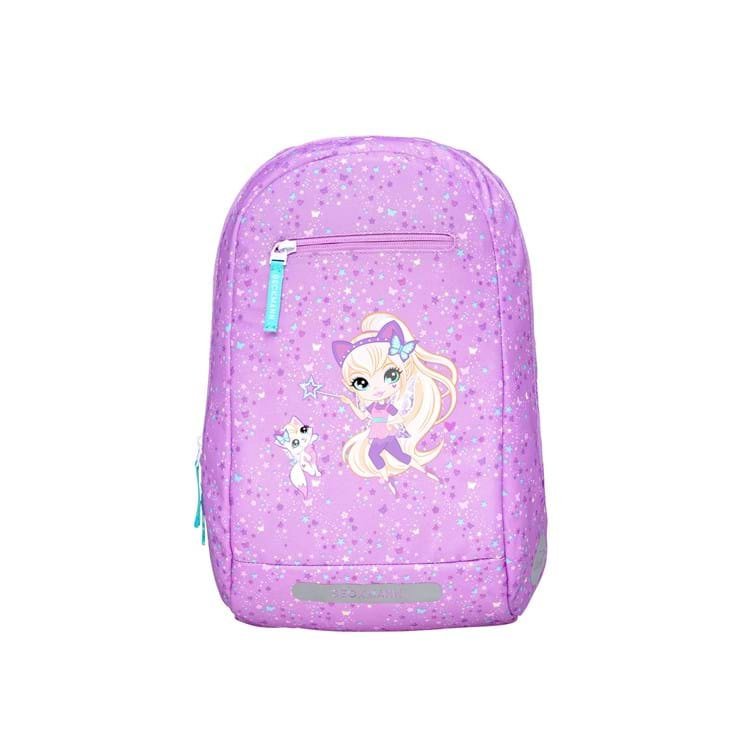 Beckmann Gymnastiktaske Magic Alva Lilla/pink 1