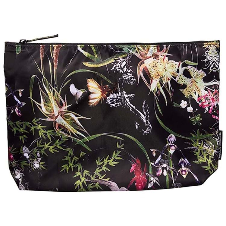 Bella Ballou Toilettaske Asian Garden Sort/med blomster 1