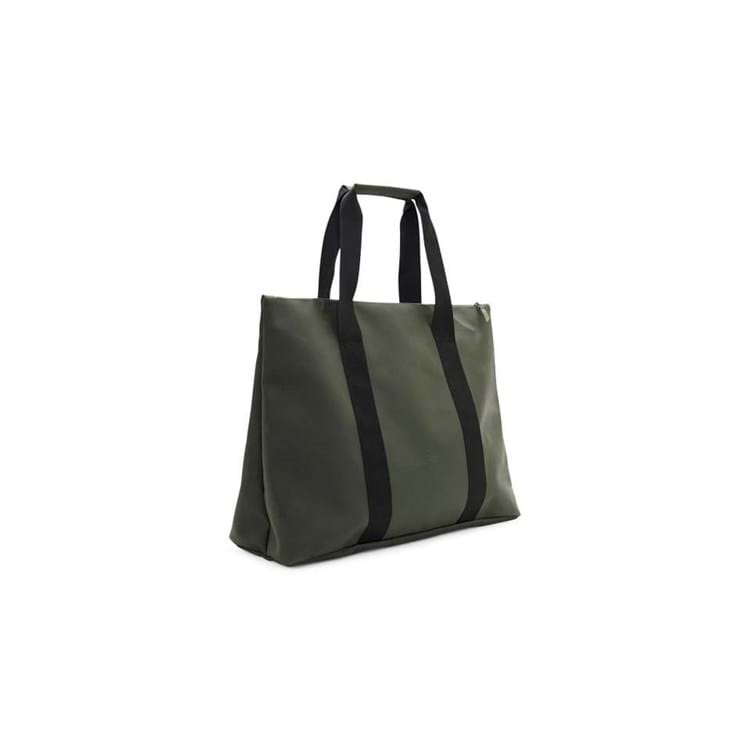 Rains Shopper Weekend Tote Grøn 2