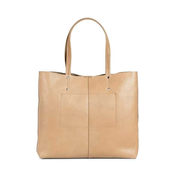 Shopper Jayda Antique Camel 4
