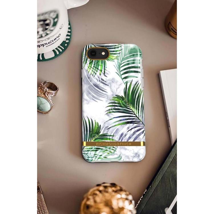 iPhone 6/6s/7/8 Cover Hvid blomst 4
