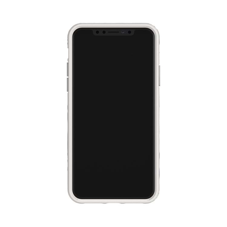 iPhone X/XS Cover Hvid blomst 2