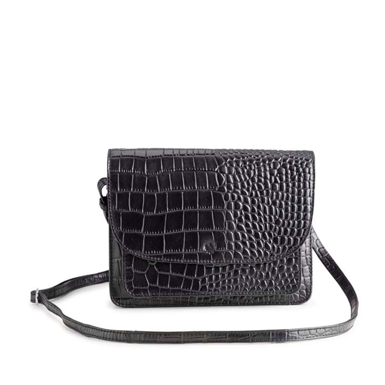 Crossbody Porto Sort/Croco 1