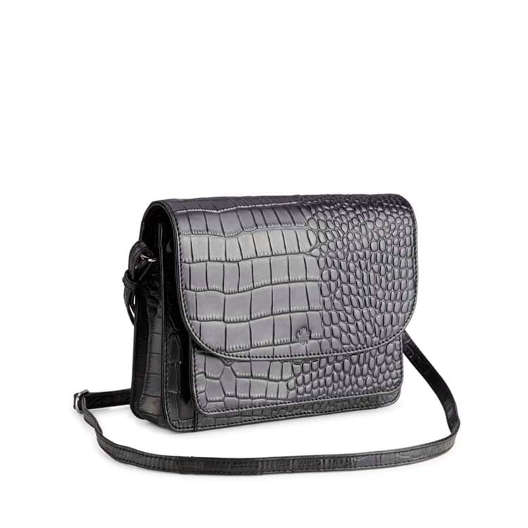 Crossbody Porto Sort/Croco 2