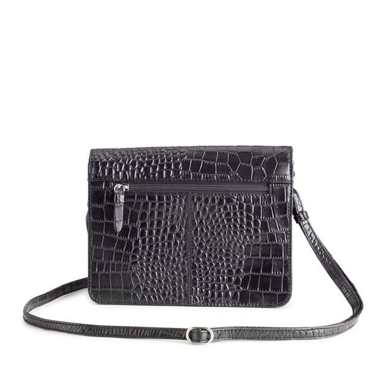 Crossbody Porto Sort/Croco 4