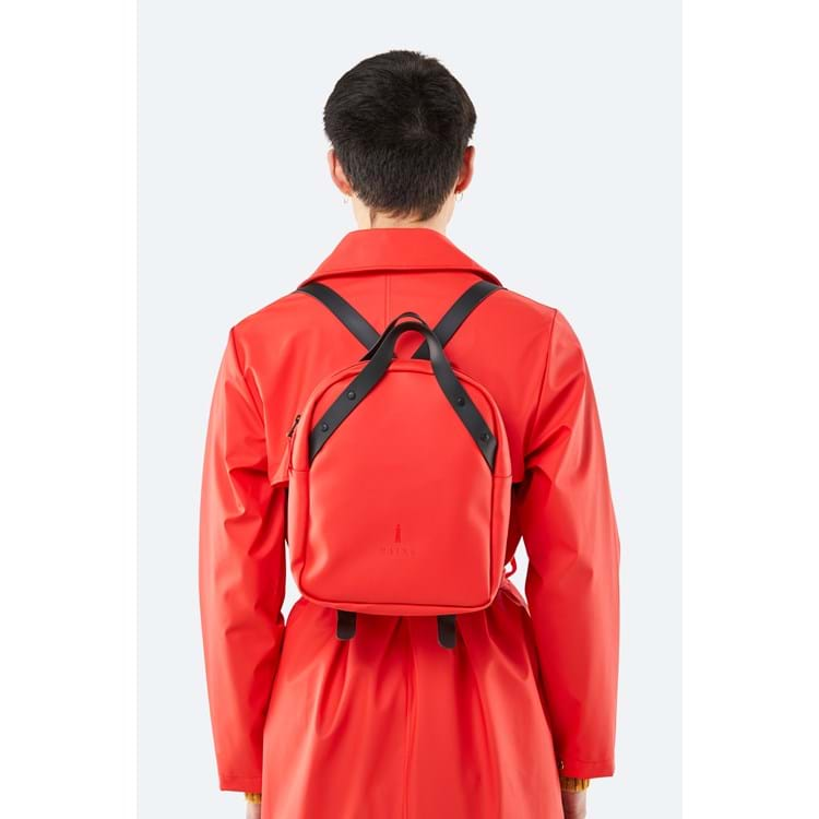 Rains Rygsæk Backpack Go Rød 3