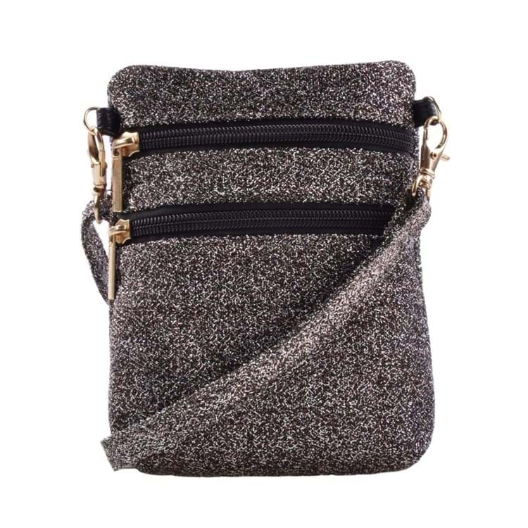 Cross Body Anja Glitter Rose/Black 1