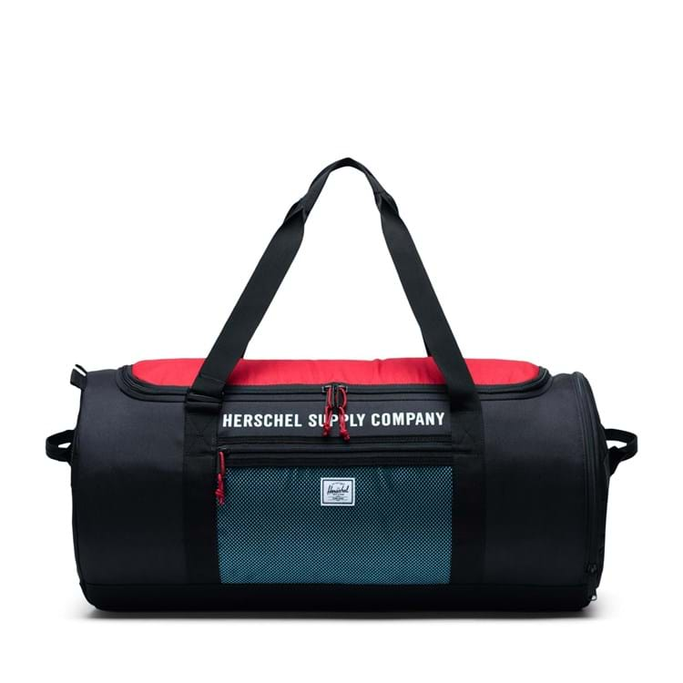 Sportstaske Sutton Carryall Sort/Rød 1