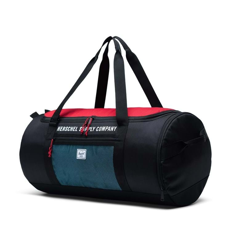 Sportstaske Sutton Carryall Sort/Rød 2