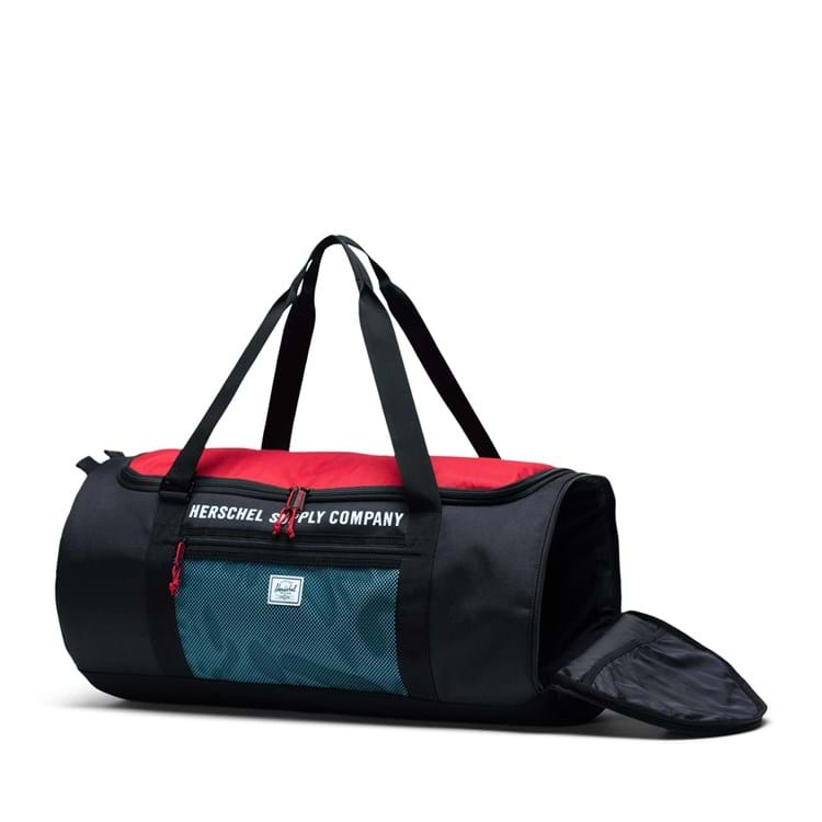 Sportstaske Sutton Carryall Sort/Rød 3