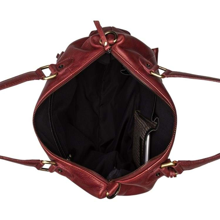 Burkely Shopper Hobo Craft Caily Rød 3