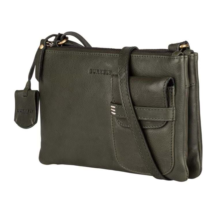 Burkely Crossbody Craft Caily X-Over M Grøn 2