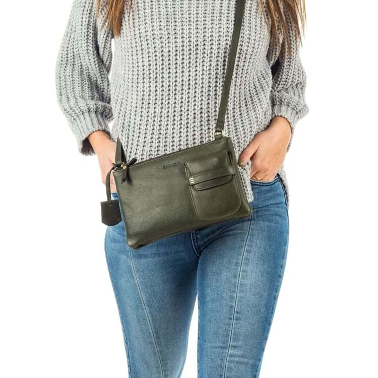Burkely Crossbody Craft Caily X-Over M Grøn 5