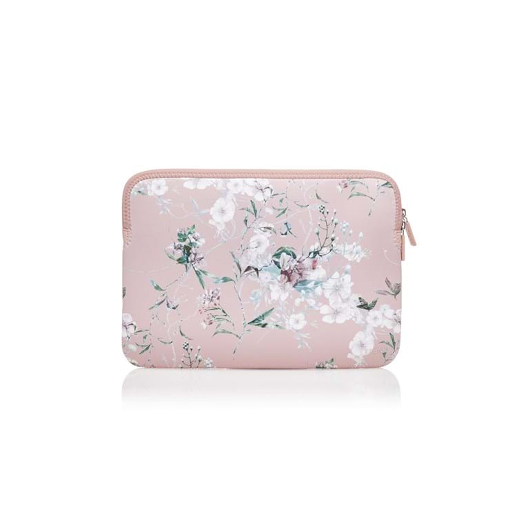 Trunk Laptop Sleeve Pink Blomst 1