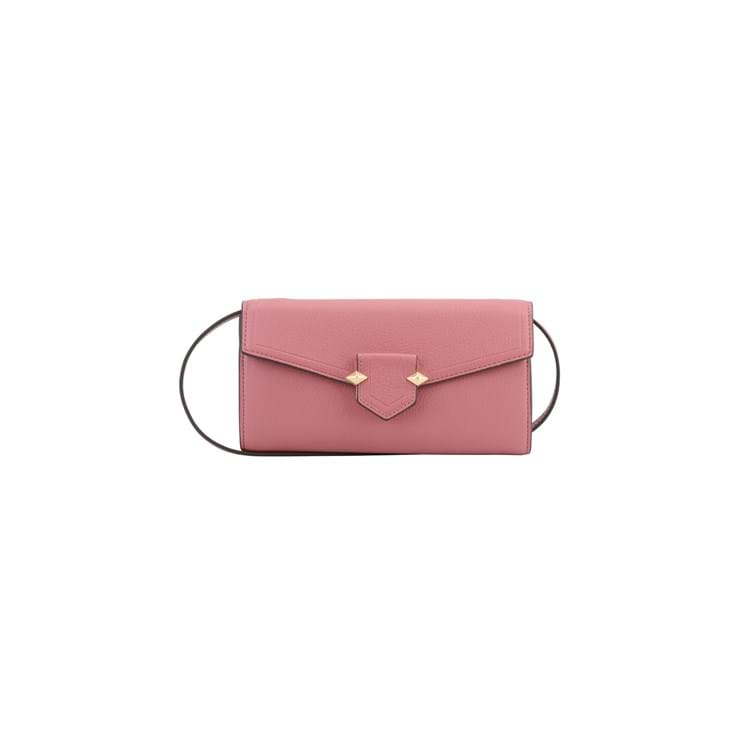 Pourchet Paris Clutch Sevres Fuchsia 1