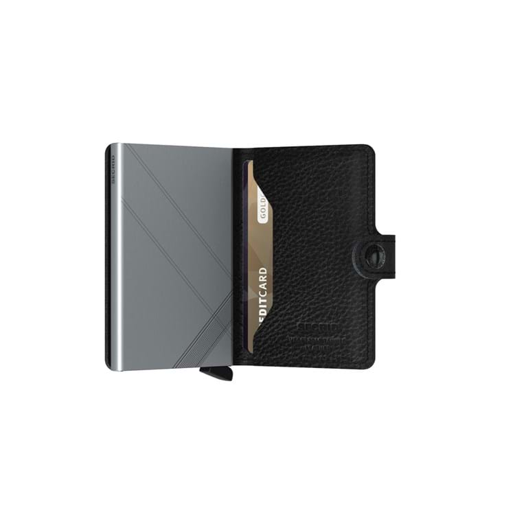 Kortholder Mini wallet Sort/grå 4