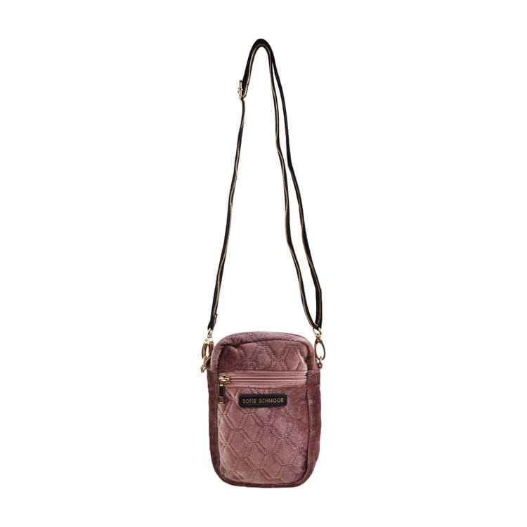 Petit by Sofie Schnoor Cross Body Velour Mørk Rosa 2