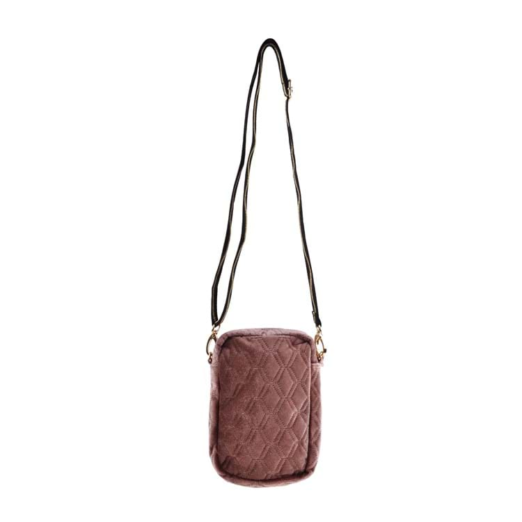 Petit by Sofie Schnoor Cross Body Velour Mørk Rosa 3