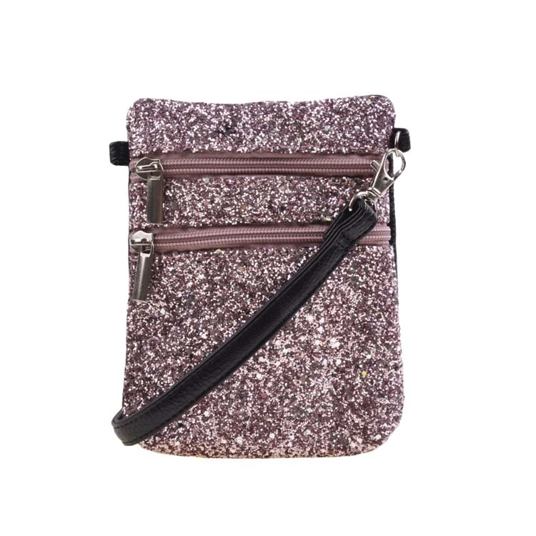 Petit by Sofie Schnoor Cross Body Glitter Lyserød 1