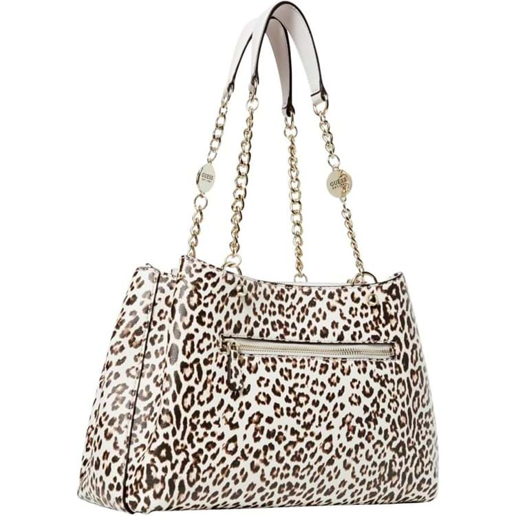 Guess Håndtaske Lorenna Girlfriend Leopard 1
