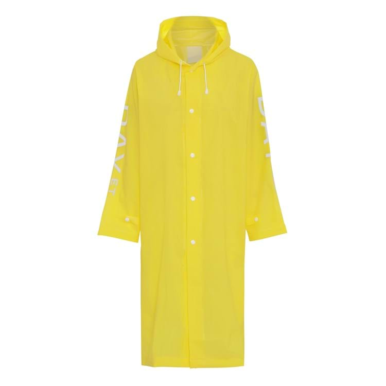 Regnfrakke Day Rain Coat Gul 1