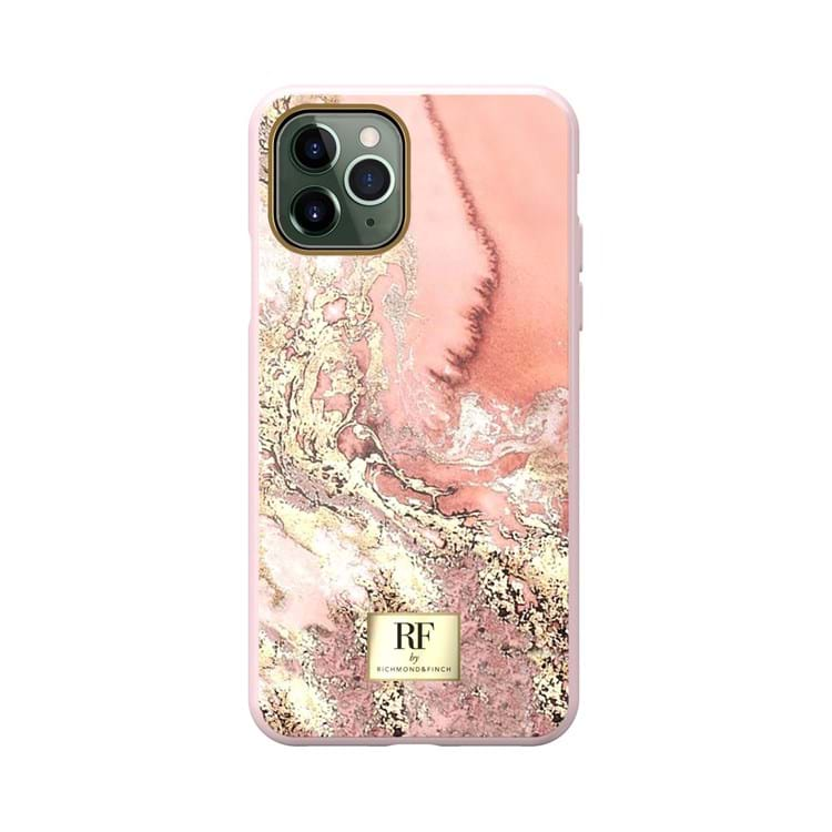 iPhone 11 Pro Max Cover Pink mønstret 1
