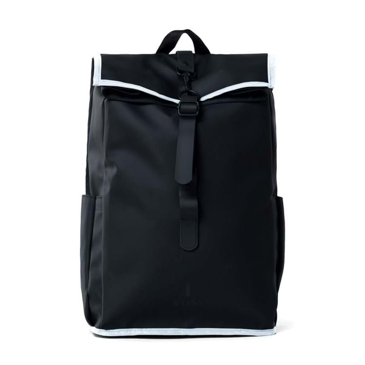 Rains Rygsæk Bike Pannier Rolltop Sort 3