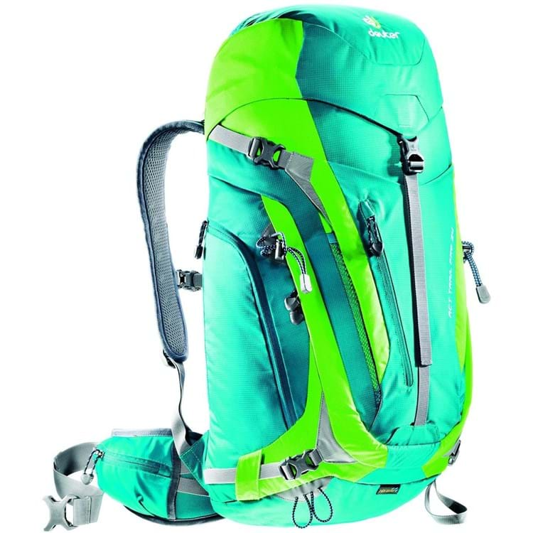 Deuter Vandrerygsæk ACT Trail PRO 34 Grøn 1