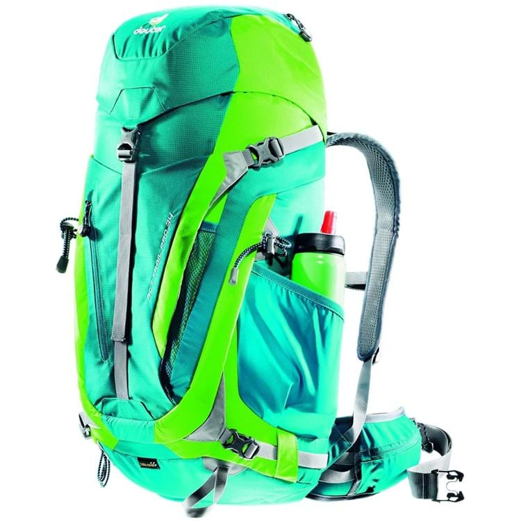 Deuter Vandrerygsæk ACT Trail PRO 34 Grøn 4